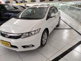 Honda Civic 2.0 Exr Flex Aut. 4p Unico Dono Financio