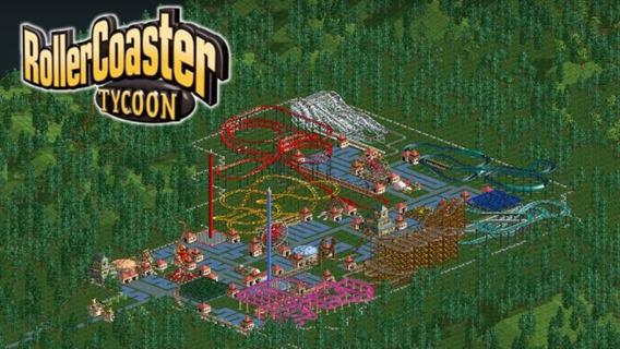 Roller Coaster Tycoon 1 - Para Pc Em Português