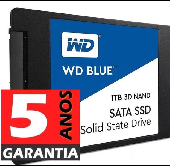 Ssd Wd 1 Tb Blue ,5 Anos Garantia,3d Nand , Modelo Novo