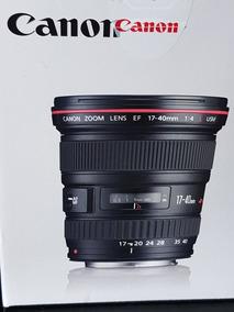 Lente Canon Ef 17 40 F4 L