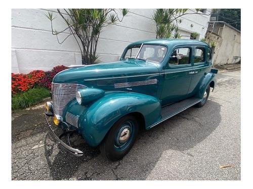 Chevrolet Master 85 1939 Placa De Coleção