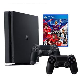 Consola Playstation 4 Slim 1tb + Mando + Pes 2020