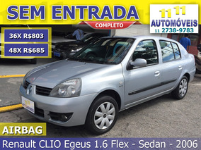 Renault Clio Sedan 1.6 16v Expression Hi-flex 4p 2006