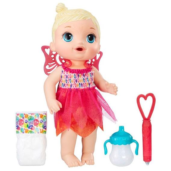Baby Alive Hora Da Festa Loira Fralda Mamadeira B9723 Hasbro