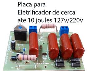 Placa Para Eletricador De Cerca Até 150 Ht 127v/220v