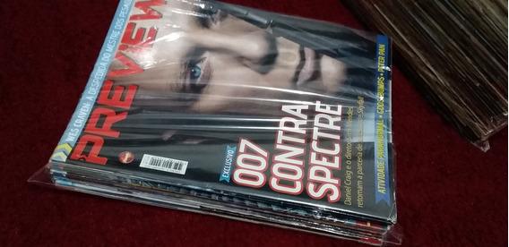 Lote 3 Edições Revista Preview Original Leia O Anuncio