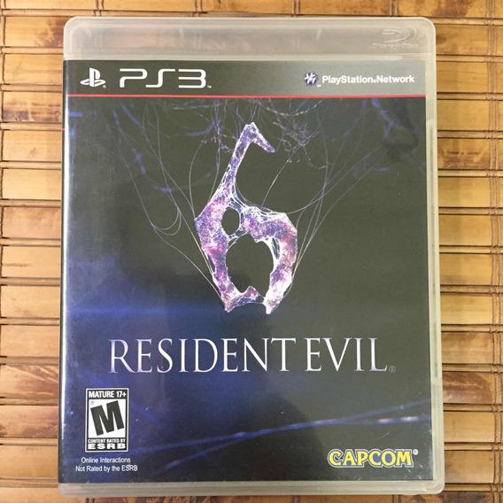 Jogo Ps3 - Resident Evil 6
