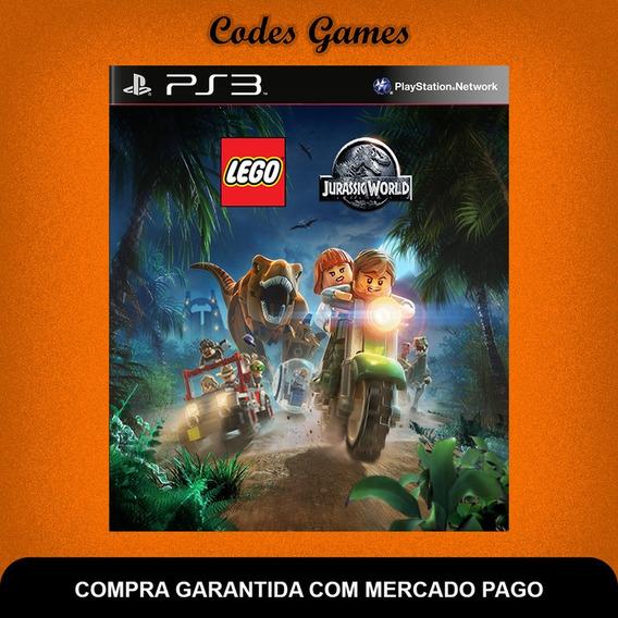 Lego Jurassic World Mundo Dos Dinossauros - Ps3 - Promoção
