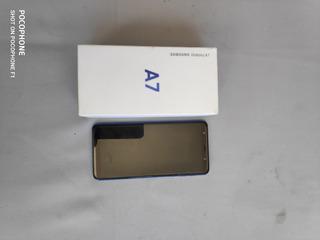 Celular Samsung A7 128gb Azul Impecável