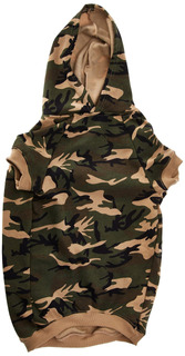 Casual Canine Camo Hoodie For Dogs, 20 Xl, Green