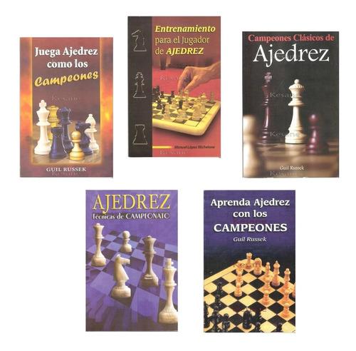 Libros De Ajedrez Partidas Técnicas Desarrollo Aperturas