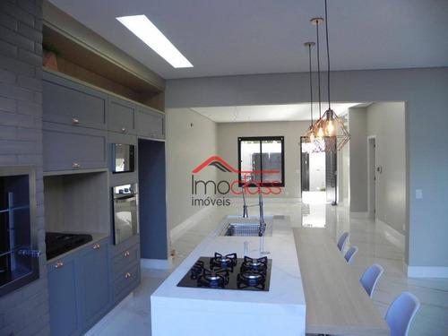 Casa Impecável No Residencial Nardini Com 200m2 - Ca1454