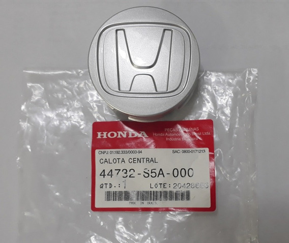 Calota Central Roda Original Honda City Fit