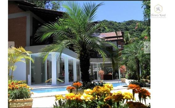 Casa Residencial À Venda, Balneário Cidade Atlântica, Guarujá. - Ca0001