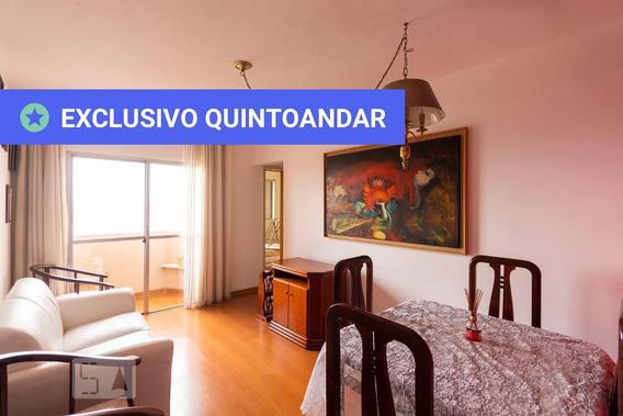 Apartamento No 20º Andar Mobiliado Com 2 Dormitórios E 1 Garagem - Id: 892952016 - 252016