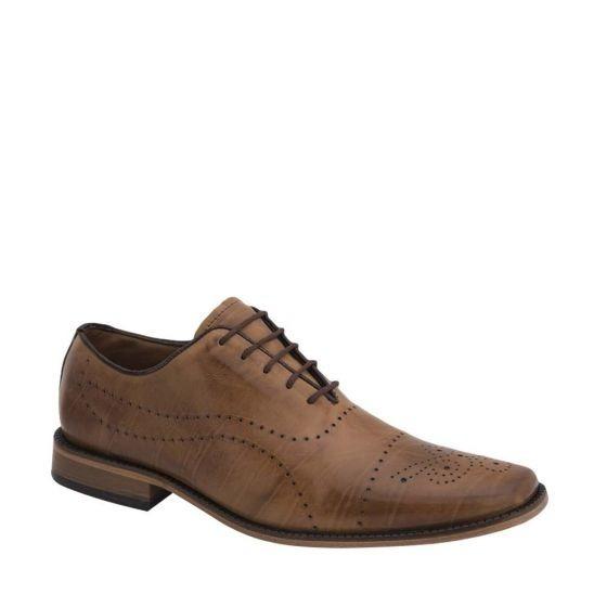 Zapato De Vestir Piel De Borrego Schatz 6112 Cab 180955