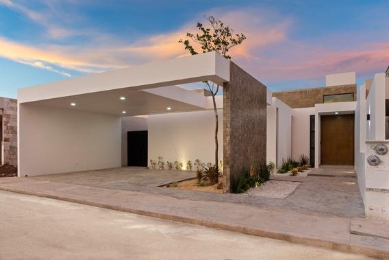 Casa Nueva De Una Planta En Venta, Mirova Modelo 1, Dzitya, Mérida Norte