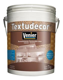Venier Textudecor Revestimiento Texturado Color X 7kg