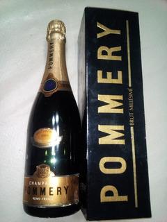 Champagne Pommery Millésimé Brut Vintage 1989 Reims France