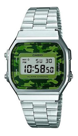 Relogio Unisex Casio Digital A168wec-3df