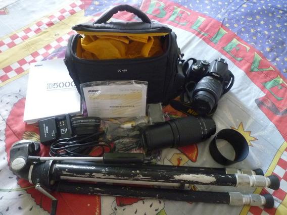 Equipo De Fotografia Profesional Nikon D5000