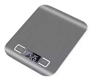 Balanza Digital De Cocina 5kg Electrónica Acero Inoxidable