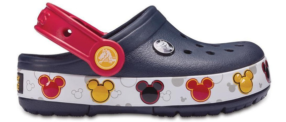 Crocs Crocslights Mickey Clog K Navy