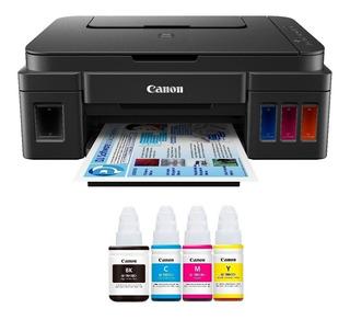 Canon Pixma G2100 Multifunción+sist. Continuo+4 Tintas+envío