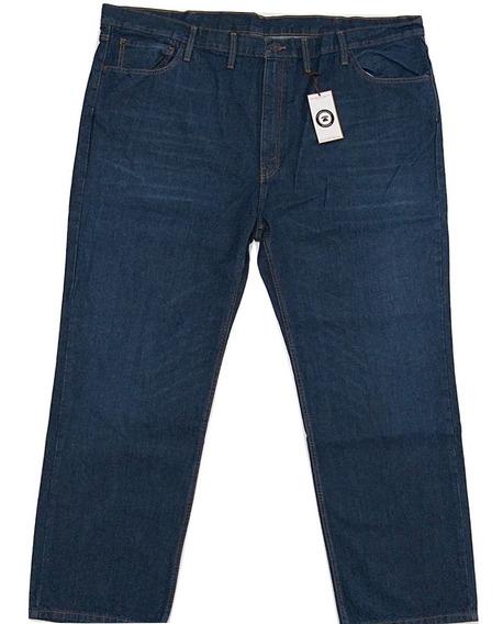 Talla Extra 52 X 32 Pantalon Mezclilla Relaxed Fit Plus Size