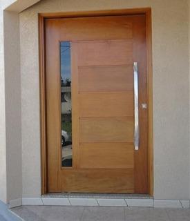 Porta Pivotante 240x140 Montada Sala Entrada