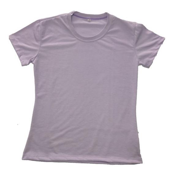 Kit 10 Camisetas Babylook Colorida Sublimação 100%poliéster