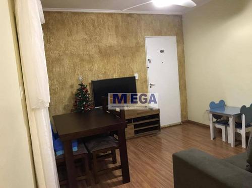 Apartamento Com 2 Dormitórios À Venda, 60 M² Por R$ 184.990,00 - Jardim Andorinhas - Campinas/sp - Ap4837