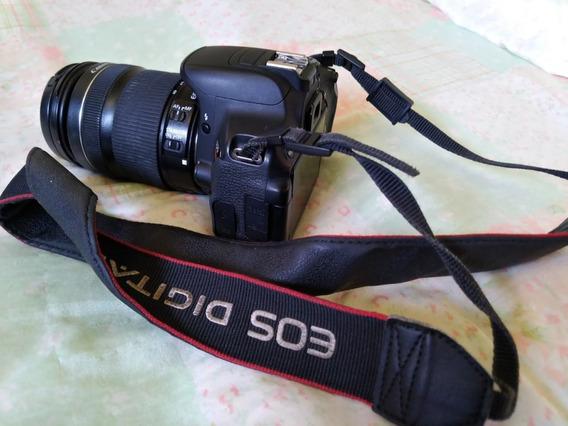 Camera Canon T5i + Lente 18 Leia A Descrição