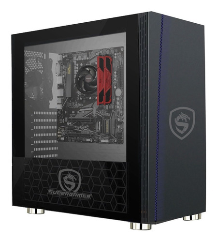 Imagen 1 de 10 de Pc Gamer Grizzly Ryzen 7 5700g 16gb Ssd480gb Graficos Radeon