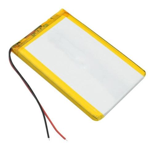 Bateria Polimero De Litio 3.7v, 5000mah 606090 Lipo