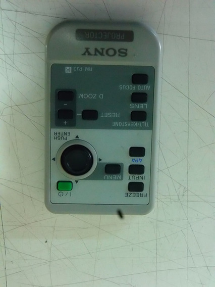 Controle Remoto Sony Rm-pj3 Projetor