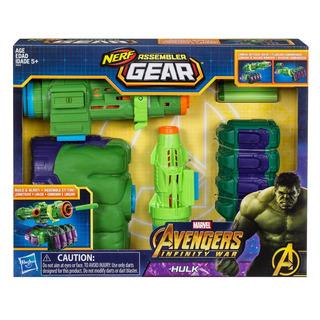 Pistola Nerf Avengers Assembler Gear Hulk E0612 (2519)