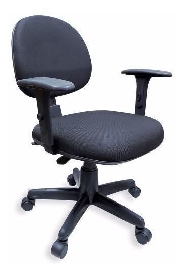 Cadeira Executiva Ergonômica Back System Nr17 Preta