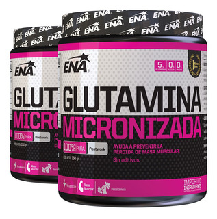 Glutamina Ena 2 Un X 150 Gr Micronizada Recuperacion