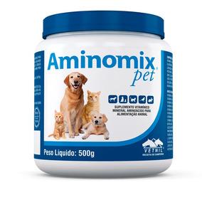 Aminomix Pet Suplemento P/ Animais 500g