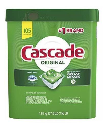 Lavavajillas Cascade Original Detergente Para Lavavajillas A