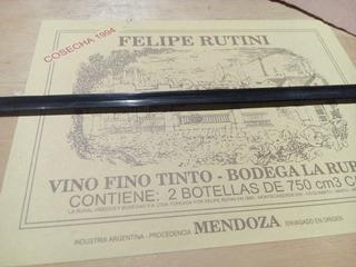 Vino Felipe Rutini 1994