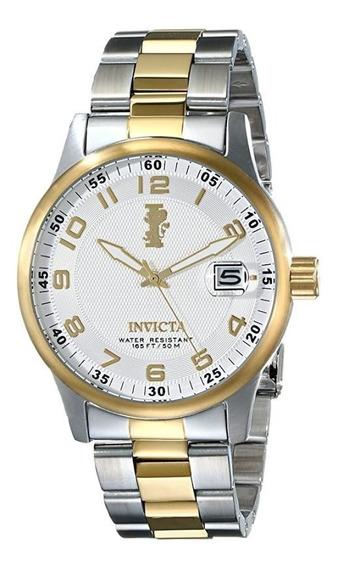 Relógio Invicta Iforce Conservadíssimo Pulseira Banhada Ouro