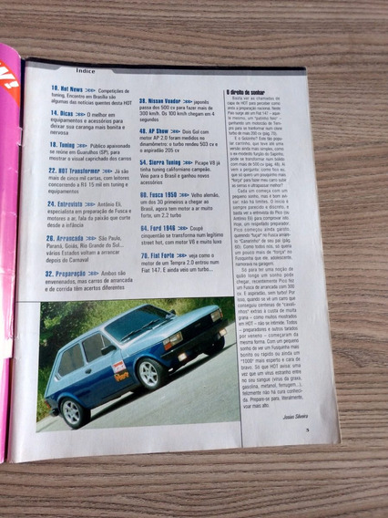 Revista Hot 14 Gol Ap Nissan Fusca Gm Sierra 681