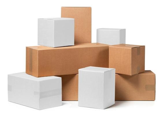 Eono by  Cajas de cart/ón para mudanzas almacenaje o env/íos 28 x 15,3 x 15,3 cm paquete de 25