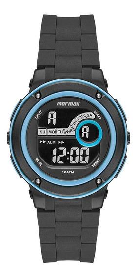 Relógio Mormaii Masculino Infantil Mo8740ab/8a Azul Digital
