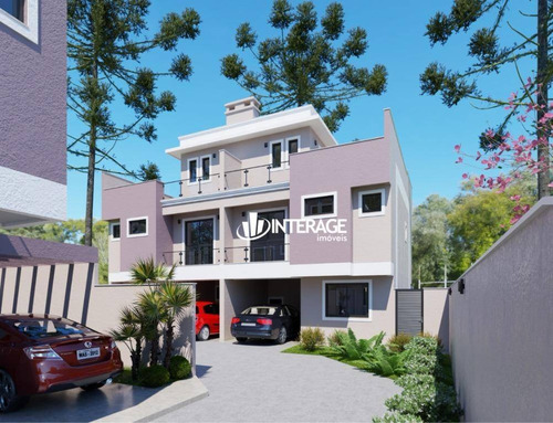 Imagem 1 de 6 de Sobrado Com 3 Dormitórios À Venda, 134 M² Por R$ 635.300,00 - Santa Felicidade - Curitiba/pr - So0287