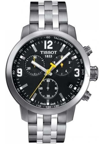 Relógio Tissot Prc 200 T055.417.11.057.00 Preto Aço Original