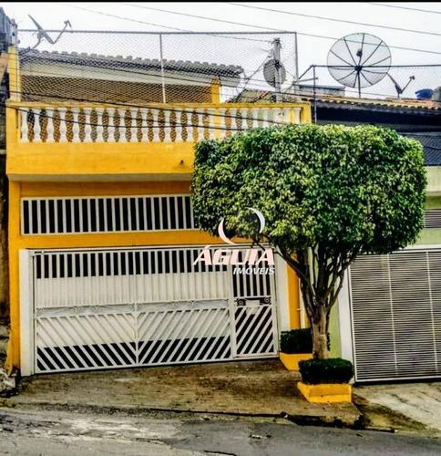 Sobrado Com 3 Dormitórios À Venda, 165 M² Por R$ 360.000,00 - Condomínio Maracanã - Santo André/sp - So1418