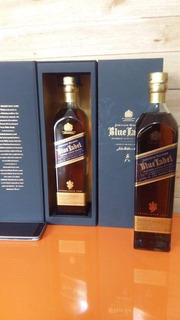 Whisky Johnnie Walker Blue Label Etiqueta Azul Vino Tequila